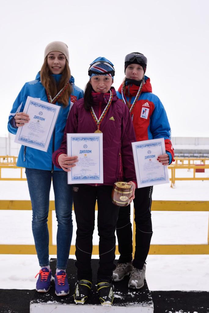 Спринт (99-00) Девушки