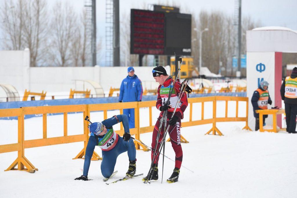 Спринт Мужчины-Юниоры (24.02.2017)
