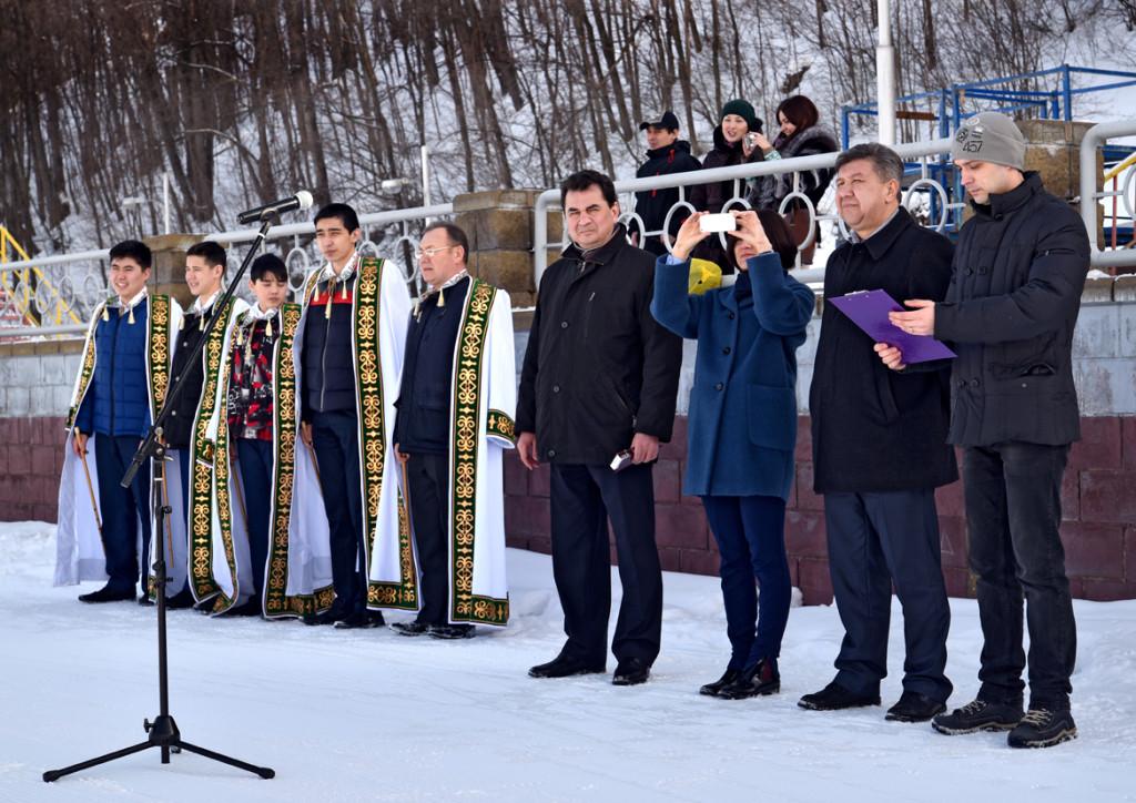 Открытие III зимней Спартакиады молодежи России по биатлону 2016