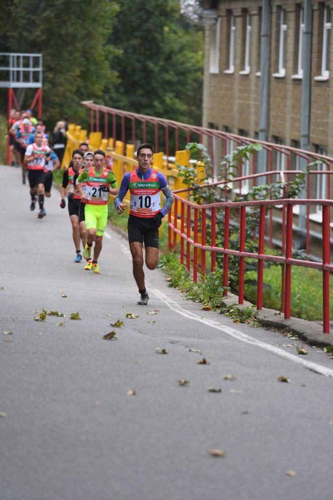 Кросс-эстафета 3х4 км Юноши 18-19 лет
