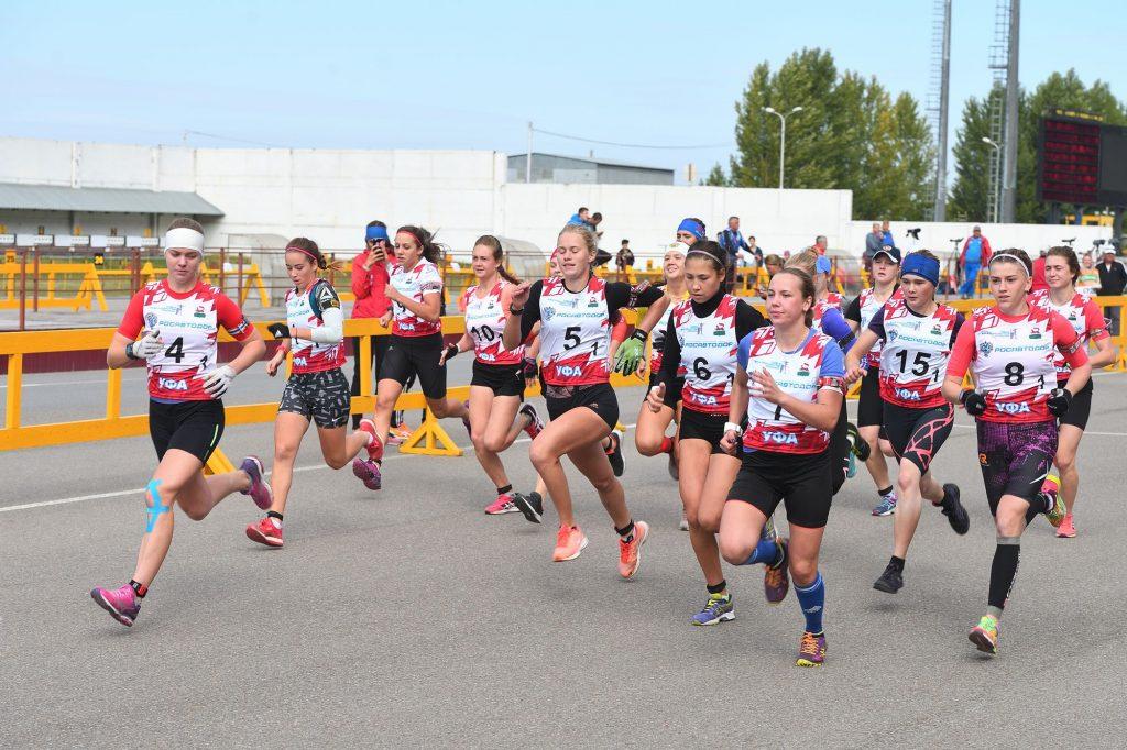 Кросс-эстафета 3х3 км Девушки 18-19 лет
