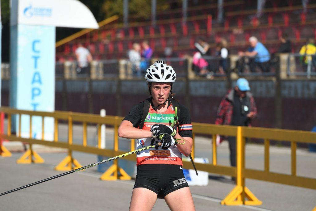 Роллеры-гонка 10 км Девушки 18-19 лет